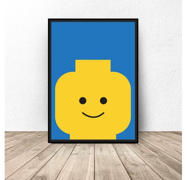 Plakat ludzik Lego Classic