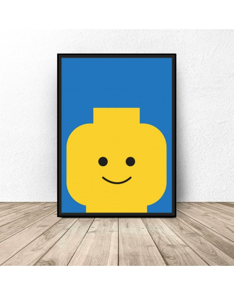 "Plakat ludzik Lego ""Classic"""