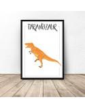Dinosaur poster Tyrannosaurus