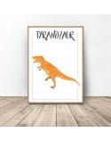 Dinosaur poster Tyrannosaurus 2