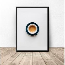 """Plakat na ścianę """"Filiżanka kawy"""""""