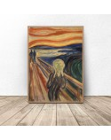 Plakat reprodukcja Krzyk Edvard Munch 61x91 wyprzedaż