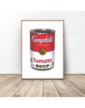 Plakat Puszka z zupą firmy Campbell Warhol 3