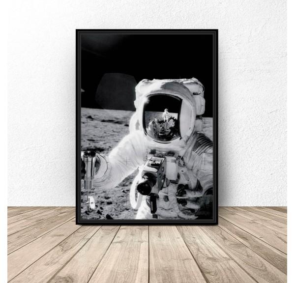 Plakat NASA Astronauta Apollo 11