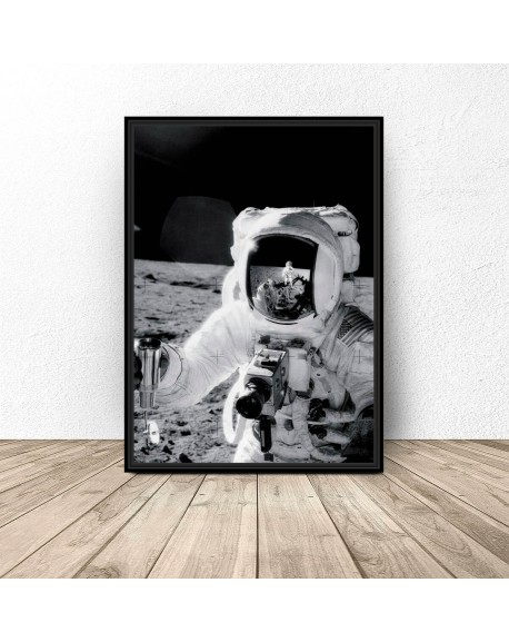 "Plakat NASA ""Astronauta Apollo 11"""
