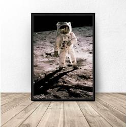 """Plakat NASA """"Człowiek na Księżycu"""""""