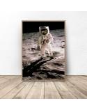 Plakat NASA Człowiek na Księżycu 2