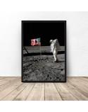 Zestaw 4 plakatów Apollo 11 5