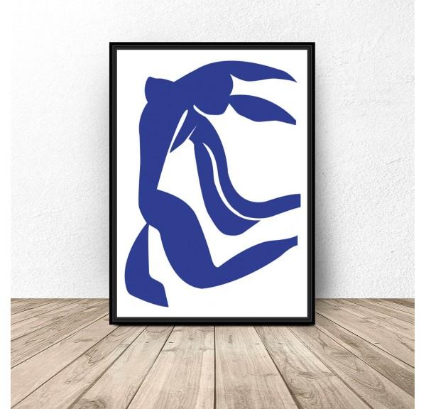 Plakat reprodukcja Blue Dance Henri Matisse