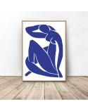 Zestaw dwóch plakatów Blue Henri Matisse 2