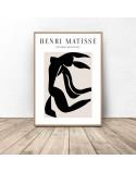 Zestaw dwóch plakatów Black Henri Matisse 3