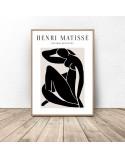 Zestaw dwóch plakatów Black Henri Matisse 2