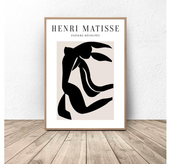 Plakat reprodukcja Black Dance Henri Matisse