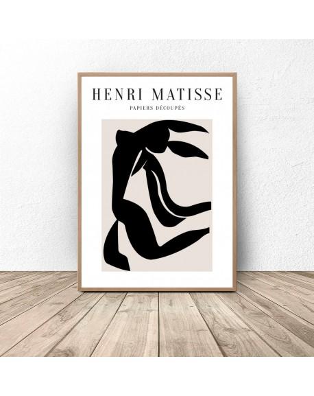 "Plakat reprodukcja ""Black Dance"" Henri Matisse"