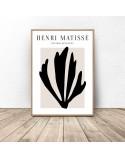 Plakat Black Leaf Henri Matisse