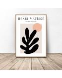 Zestaw dwóch plakatów Black and Leaf Henri Matisse 3