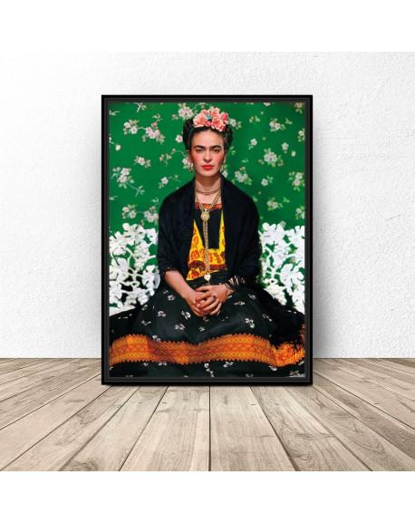 """Kolorowy plakat """"Frida Kahlo"""""""