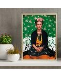 Kolorowy plakat Frida Kahlo 2