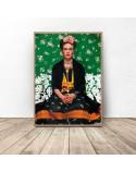 Kolorowy plakat Frida Kahlo 3