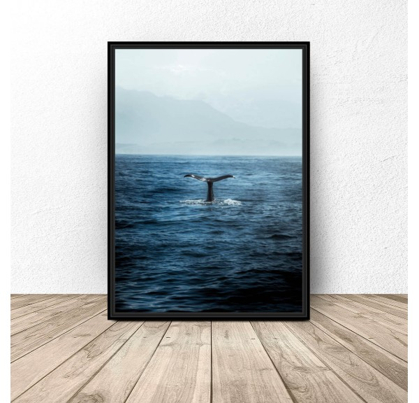 Plakat dekoracyjny Ryba w wodzie