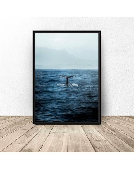 """Plakat dekoracyjny """"Ryba w wodzie"""""""