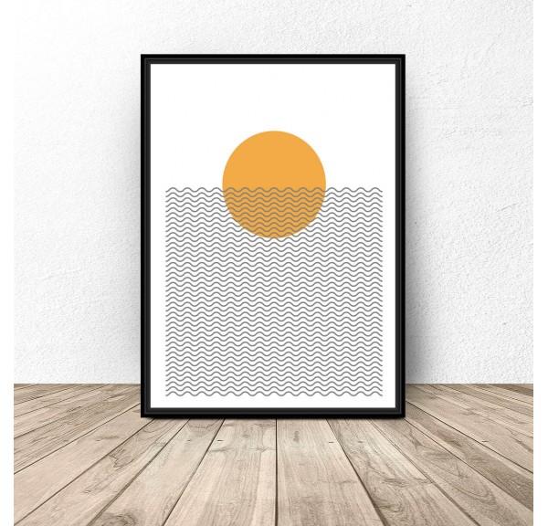 Plakat na ścianę Słońce na plaży