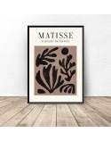 Plakat Rośliny w brązach Henri Matisse