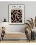 Plakat Rośliny w brązach Henri Matisse 2