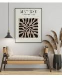 Plakat Czarna roślina Henri Matisse