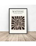 Plakat Czarna roślina Henri Matisse 2