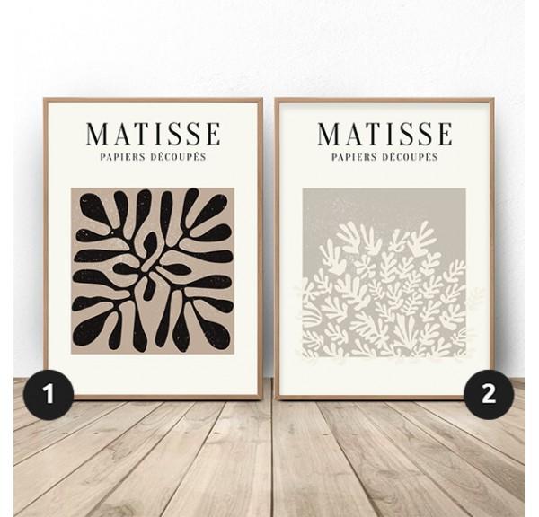 Zestaw dwóch plakatów Rośliny Henri Matisse