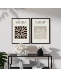 Zestaw dwóch plakatów Rośliny Henri Matisse 4