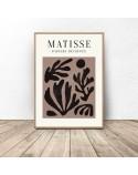 Zestaw trzech plakatów Roślinność Henri Matisse 4