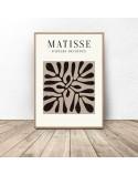 Zestaw trzech plakatów Roślinność Henri Matisse 2