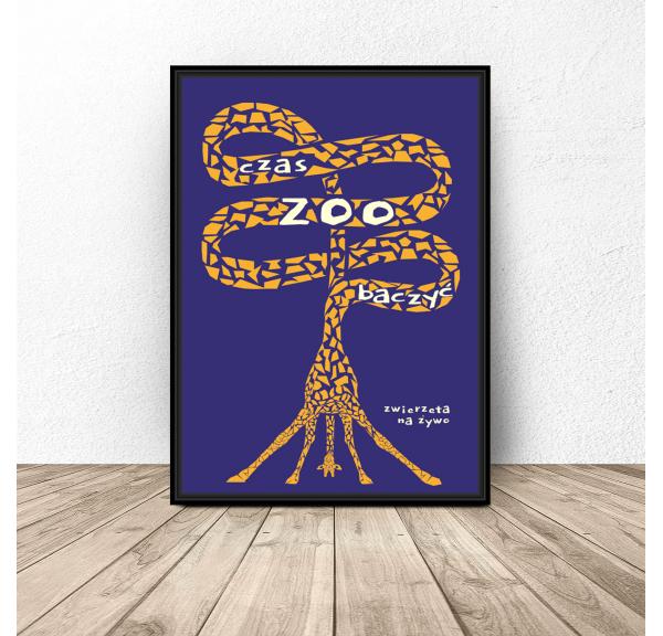 Plakat współczesny Zoo