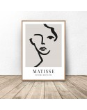 Plakat na ścianę Kobieca twarz Henri Matisse