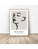 Plakat dekoracyjny Kobiece rysy Henri Matisse