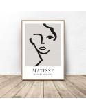 Zestaw trzech plakatów Twarze Matisse 2