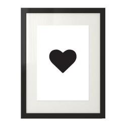 "Plakat z sercem ""Heart"""