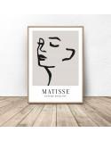Zestaw trzech plakatów Twarze Matisse 3