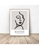 Zestaw trzech plakatów Twarze Matisse 4