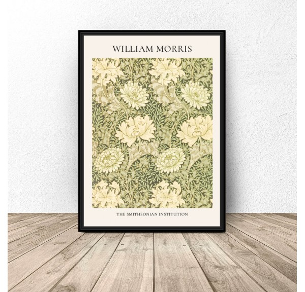 Plakat reprodukcja Chryzantema Chrysanthemum Pattern William Morris