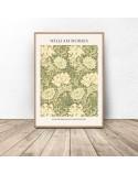 Plakat reprodukcja Chryzantema Chrysanthemum Pattern William Morris 2
