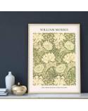 Plakat reprodukcja Chryzantema Chrysanthemum Pattern William Morris 3