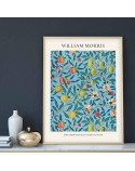 Plakat reprodukcja Cztery owoce Four Fruit Pattern William Morris 3