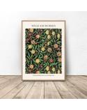 Plakat reprodukcja Owoce Fruit Pattern William Morris 2