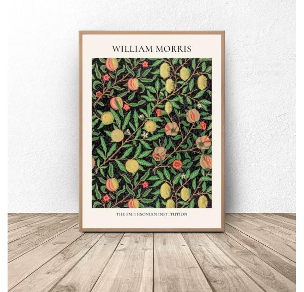 Plakat reprodukcja Owoce Fruit Pattern William Morris
