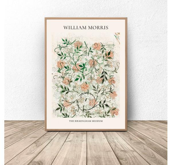 Plakat reprodukcja Jaśmin Jasmine William Morris