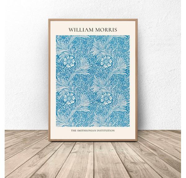 Plakat reprodukcja Aksamitka Merigold William Morris