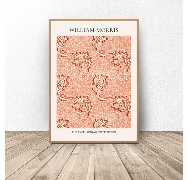 Plakat reprodukcja Jabłko Apple Pattern William Morris